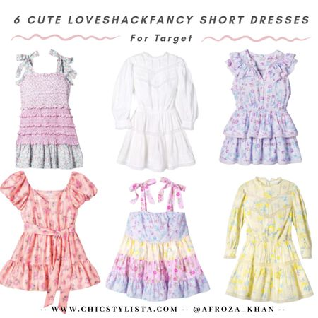 How adorable are these cute Summer dresses from LoveShackFancy for Target! Love the floral print, boho vibes and Summer colors! All under $60! http://liketk.it/2Q7Aq @liketoknow.it #liketkit #LTKstyletip #LTKunder100