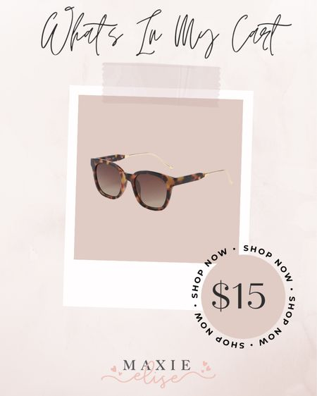 What's In My Cart - Affordable Sunglasses From Amazon 🕶  #whatsinmycart #affordablesunglasses #amazonsunglasses #amazonfashion #sunglasses #amazonfinds #amazonfashion  #LTKSeasonal #LTKunder50 #LTKstyletip