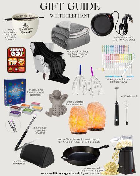 white elephant gift ideas - stocking stuffers http://liketk.it/33TVi @liketoknow.it #liketkit #LTKunder100 #LTKunder50 #LTKgiftspo