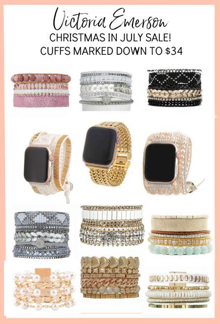 Victoria Emerson Christmas in July sale started today!! Wraps on sale for $25, cuffs marked down to $34. #ad @victoriaemerson  #LTKunder50 #LTKsalealert #LTKstyletip