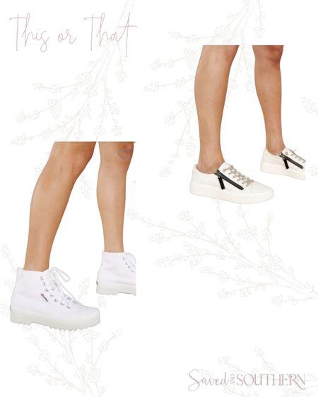 Chunky sneakers or plain sneakers. http://liketk.it/3hSoq #liketkit @liketoknow.it #LTKshoecrush