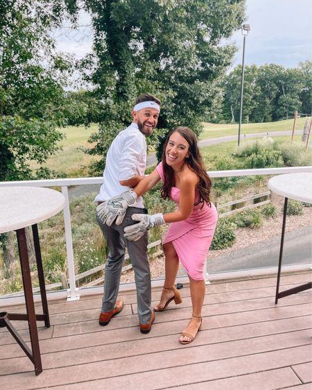 Pretty wedding guest dress under $100 and comfy heels! http://liketk.it/3jtca / #liketkit @liketoknow.it #LTKwedding #LTKshoecrush #LTKunder100