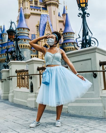 Dream big, Princess 💫  • Your dreams are so important, so dream big and never give up!! • What are you dreaming about this weekend? • • • To shop my look head over to my bio!  • • #cinderella #cinderellacastle #disneyparks #waltdisneyworldresort #wdwannualpassholder  #styledbymagic #disneyootd #disneygram http://liketk.it/2V1qt #liketkit @liketoknow.it