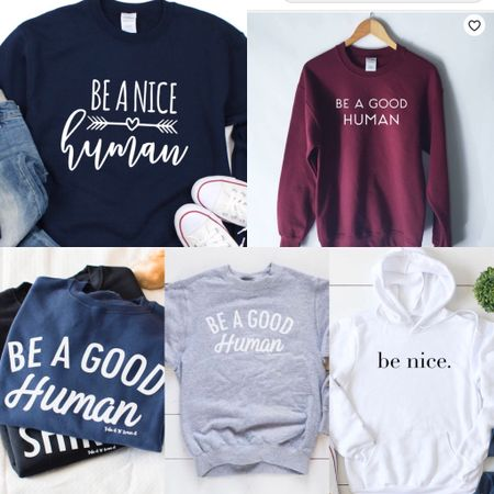 For my CANADIAN friends!! Here are some Etsy statement sweatshirts available for you!!! These are all available to the US too so I linked both, that's why you see two links for the same sweatshirt. I hope this helps!   http://liketk.it/2NSwo #liketkit @liketoknow.it You can instantly shop all of my looks by following me on the LIKEtoKNOW.it shopping app