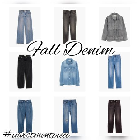 Refresh with fall denim @madewell. And if you're an insider (sign up -it's free!) all denim is 20% off (hurry -the insider event ends tonight!) #investmentpiece   #LTKSeasonal #LTKstyletip #LTKsalealert