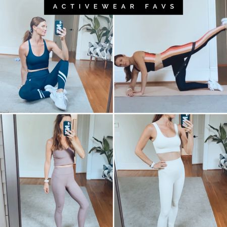 Activewear Favs, matching sets, Tory birch, holiday gifts, leggings, fitness, workout   #LTKGiftGuide #LTKfit
