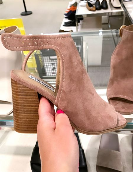 Tan Block heel sandals from Nordstrom     #LTKshoecrush #LTKstyletip #LTKunder100