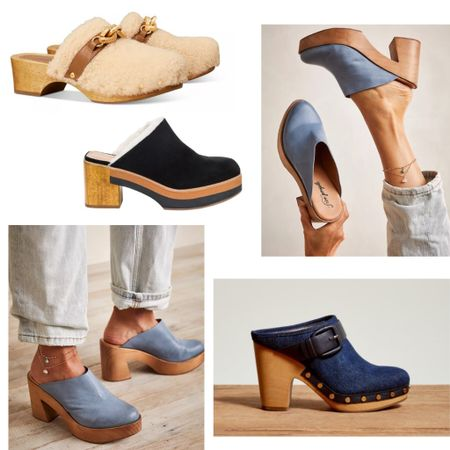 Clogs are back! Check out this selection. You can wear them alone or with socks.   #clogs #fallfashion #falloutfit #falltrends #trending #fallshoes   #LTKshoecrush #LTKSeasonal #LTKstyletip