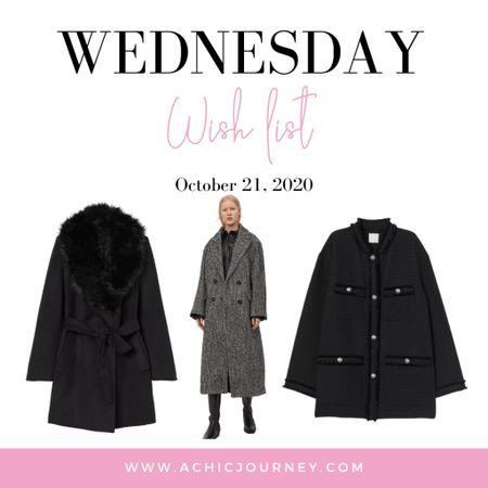 Wednesday Wish List: Chic Coats Edition http://liketk.it/2ZLDR #LTKunder100 #coats #liketkit @liketoknow.it