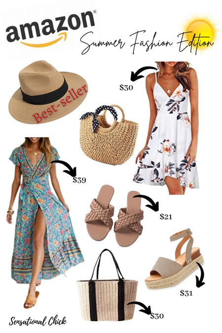Amazon Summer Fashion 🌞 Finds! Click to see these amazing deals! #LTKunder50 #LTKworkwear #LTKstyletip @liketoknowit.summer http://liketk.it/3hRv4 #liketkit @liketoknow.it