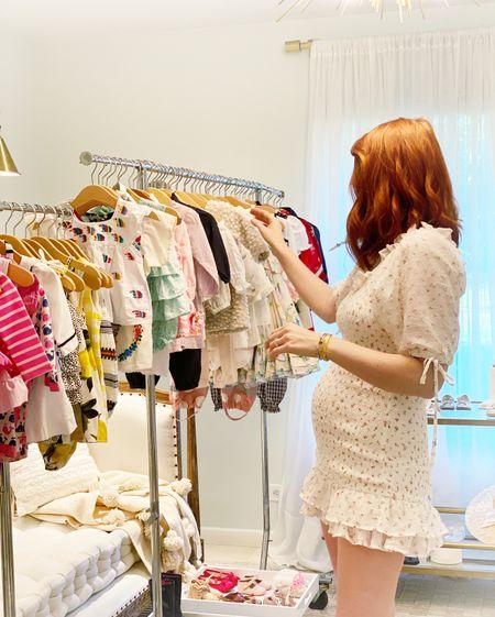 My little dress is not maternity but it fits a little bump ❤️   #LTKunder50 #LTKbump #LTKsalealert