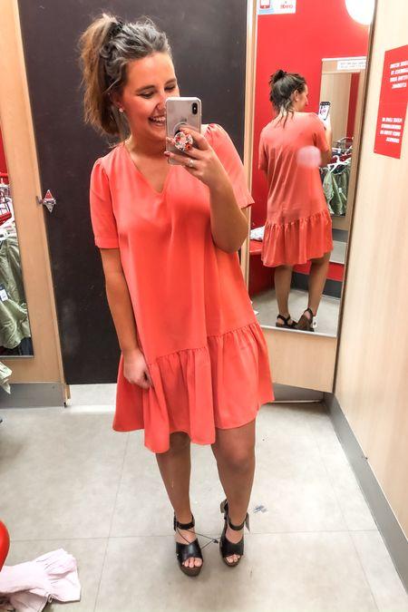 Coral 🌸 pink 🌸 dress http://liketk.it/2KZB9 #liketkit @liketoknow.it #LTKworkwear #LTKunder50 #LTKspring