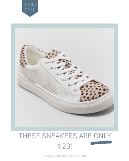 OMG how cute are the feather leopard print sneakers?? I've been looking for a pair like this and these happen to be on sale for $23 😱😱😱😱  #LTKsalealert #LTKunder50 #LTKshoecrush