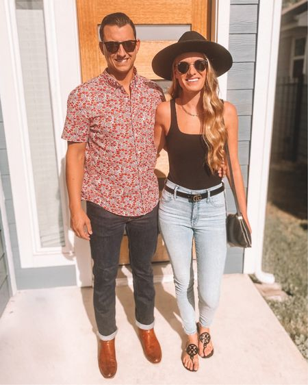 Date night😍 hat is from Sugar & Spice Apparel and Dom's boots are from Tecovas  (The Nolan style) http://liketk.it/2YMWs @liketoknow.it #liketkit #LTKunder100 #LTKstyletip #LTKmens