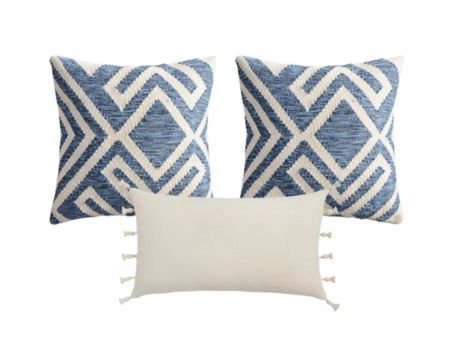Throw pillows favorites only $29.99 perfect for both indoor and outdoor use. Patio pillows   #LTKstyletip #LTKunder50 #LTKhome