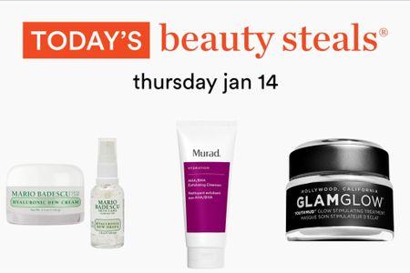 Ulta Beauty Steals for today! The Murad cleanser is 10000% amazing 🤩   #LTKunder50 #LTKsalealert #LTKbeauty