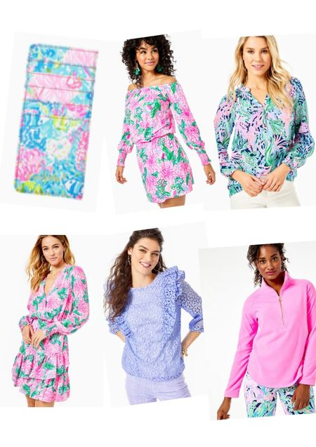 My too 6 picks from the #LillySunshineSale include fabulous gift ideas, like the card holder, as well as Lilly Pulitzer favorites from every season like the iconic Elsa top, Lileeze easy care fabric Christiana dress and popovers at only $34! . Prices and availability seem to be very good this year.  . What did you pick up from the sale this year?  . #lifeinlilly   #LTKsalealert #LTKunder100 #LTKSale