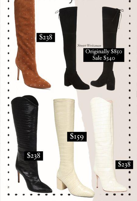 Fall/Winter boots / style / booties / knee high boots   #LTKshoecrush #LTKSeasonal #LTKsalealert