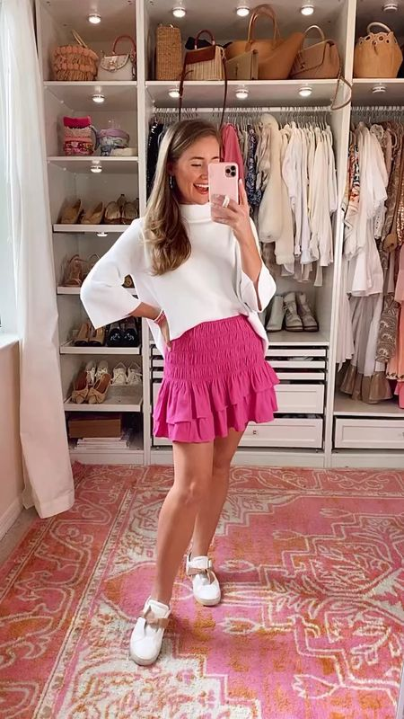 CODE: KATE15 for 15% off June 4-6  Sweater // small Skirt // small