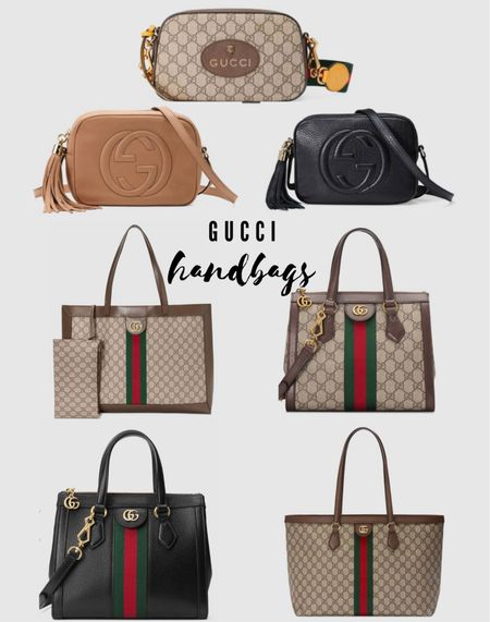 The Gucci obsession continues!! My absolute favorite pieces and their most versatile handbags. 🤩 #Gucci #handbag   #LTKstyletip #LTKitbag