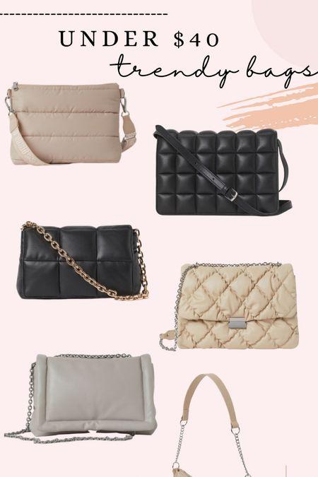 Under $40 trendy bags!