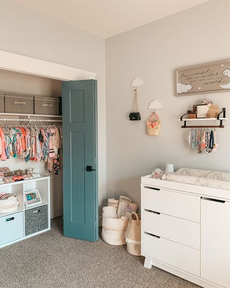 Documentation of a decluttered toddler room ✨ #girlsroom Shop everything in this photo in the @shop.LTK app or the link in my bio #babyroomideas #kidsroomdesign #neutralnursery #kidsroomdecor #babyroom #nurserydecor #toddlerroom #nursery #changingtable   #LTKhome #LTKfamily #LTKbaby