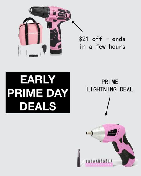 Prime Day 2021 Pink tools   http://liketk.it/3hIMt #liketkit @liketoknow.it #LTKsalealert #LTKunder50 #LTKhome