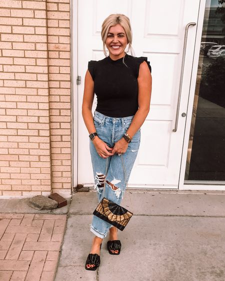 Girls night out with the fam!   I love these jeans! They're a splurge but worth every dime. I wear them out with heels and dress them down with sneakers. I'm a size 27. http://liketk.it/3gY76 #liketkit @liketoknow.it