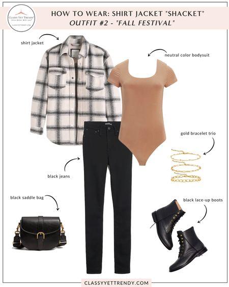 On The Blog: How To Wear a Shirt Jacket 4 Ways  #LTKstyletip #LTKunder100 #LTKunder50