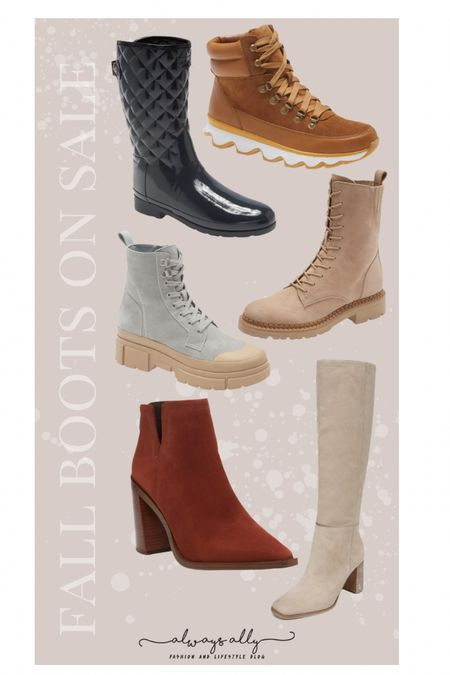 Nordstrom Fall Boots/booties on sale!!!   #LTKSale #LTKshoecrush #LTKstyletip
