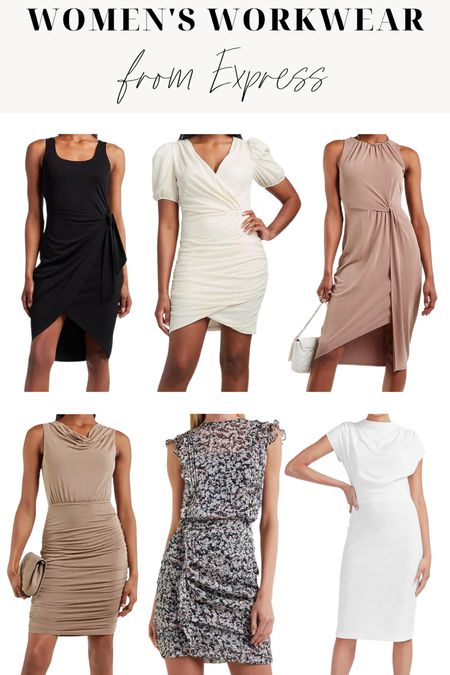 Express Summer Workwear Favorites! ••• Summer work outfits. Chic work style. Office workwear. Business professional. Business casual.   #LTKstyletip #LTKworkwear
