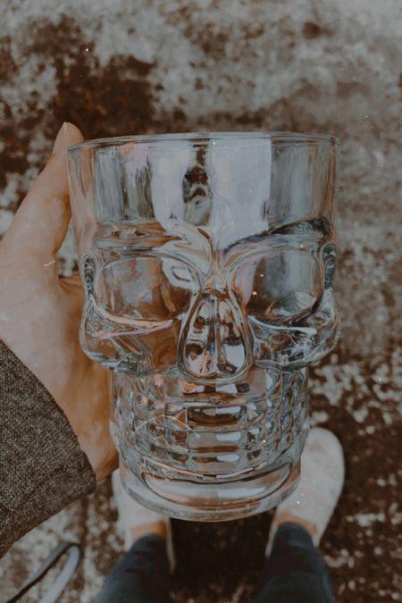 Fall and Halloween are just around the corner! I found this skull mug at Walmart for under $10 that I couldn't resist.   #LTKsalealert #LTKhome #LTKunder50