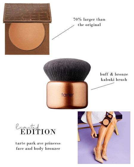 Favorite bronzer ever! Tarte's Park Ave Princess now in a limited edition Face & Body size. http://liketk.it/2Srww @liketoknow.it #liketkit #StayHomeWithLTK #LTKDay #LTKbeauty #LTKunder50 Download the LIKEtoKNOW.it app to shop this pic via screenshot #tarte #makeup #bronzer #beauty