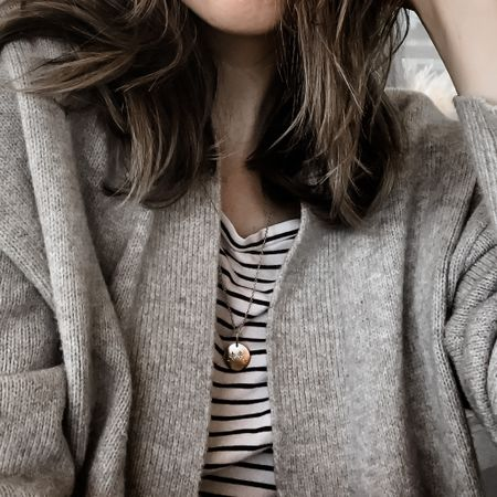 The coziest cardigan for under $30! I am definitely getting this in other colors.   #LTKSeasonal #LTKunder50 #LTKworkwear