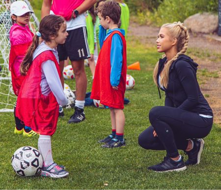 Loved encouraging these kids to chase their dreams as they play the sport that will always have a special place in my heart❣️  Shop the outfit here! #LTK #athleticwear #onthego #sports #futbol #futbolislife #MissUSA #MissKSUSA #MissUniverse #HuntfortheCrown  #LTKhome #LTKbeauty #LTKfit