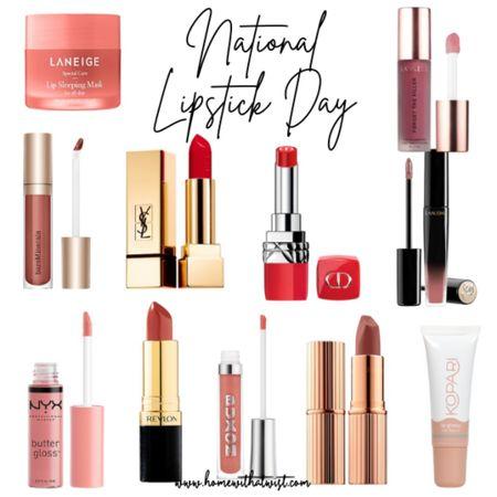 Let's celebrate National Lipstick Day! #lipstick #beauty #sephora #ulta  #LTKunder100 #LTKbeauty #LTKsalealert