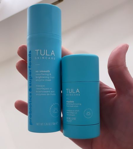 Use code BRITTNEYANN for 15% OFF all Tula skincare products. These are 2 of my favorite masks!   #LTKunder100 #LTKbeauty #LTKunder50