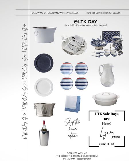 LTK Sale Day 2! The Home Edition from Frontgate! Shop my pics, including some 4th of July entertaining ideas! #ltkday #liketkit @liketoknow.it @liketoknow.it.home http://liketk.it/3hsHw
