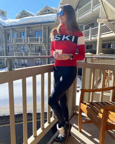 Ski outfit, Jackson hole Wyoming, ski trip, snow boots, Apres ski,   #LTKSeasonal #LTKstyletip #LTKHoliday
