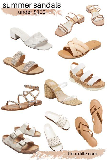 10 sandals under $100! @liketoknow.it http://liketk.it/3ft9c #liketkit #LTKunder100 #LTKstyletip #LTKshoecrush