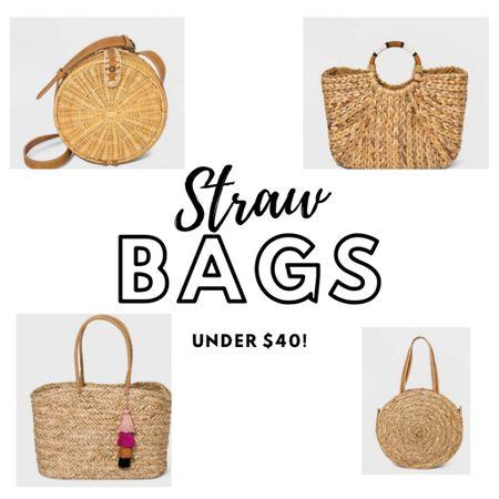 Cute straw bags under $40!! http://liketk.it/3fgBx #liketkit @liketoknow.it Shop my daily looks by following me on the LIKEtoKNOW.it shopping app  #strawbags #summertote #summerbags #fashionover40 #fashionover50 #summerstyle #LTKstyletip