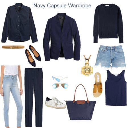 An update on my navy capsule wardrobe!   #LTKunder50 #LTKunder100 #LTKstyletip