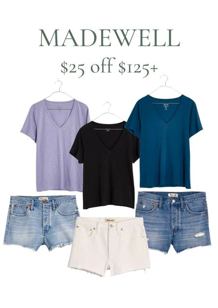 LTK DAY MADEWELL PICKS! All of these Madewell shorts are amazing in person. I order two sizes down from my regular Madewell size and they're perfect that way! These are the relaxed fit, so I definitely think you should size down! I have all of them and love all of them!  #LTKDay #LTKstyletip