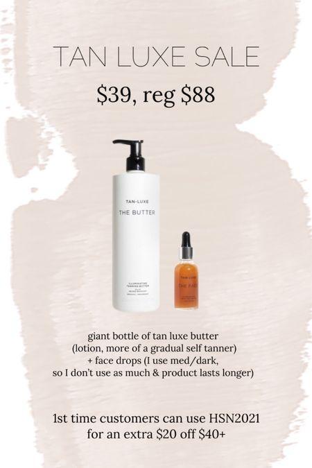 Tan luxe deal of the day! Today only // self tanner // beauty // http://liketk.it/3igRP @liketoknow.it #liketkit #LTKunder50 #LTKbeauty #LTKsalealert