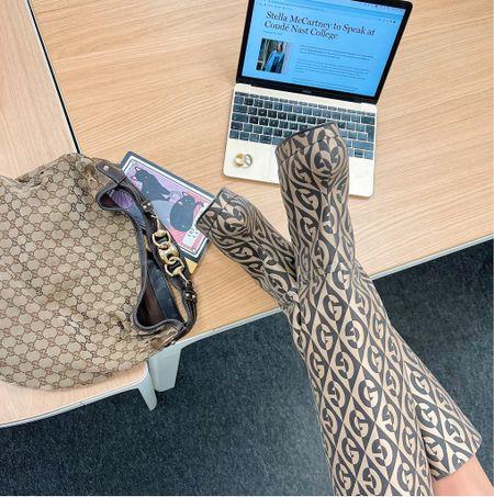 Gucci boot addiction  #gucci #kneehighboots  #LTKNewYear