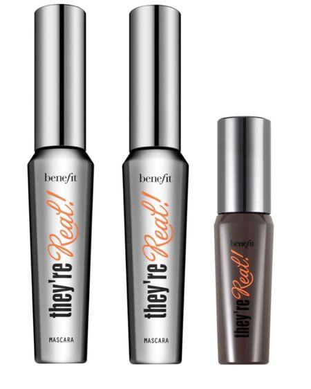 NSale Gems! Benefit They're Real Mascara Trio  #LTKbeauty #LTKsalealert http://liketk.it/3jNNh #liketkit @liketoknow.it