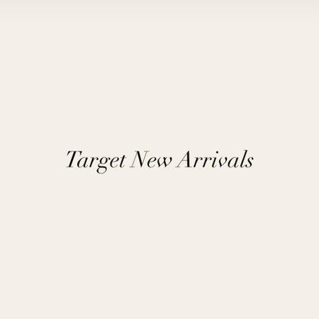 New designer arrivals from Target. #target #targetstyle   #LTKunder50 #LTKworkwear #LTKunder100