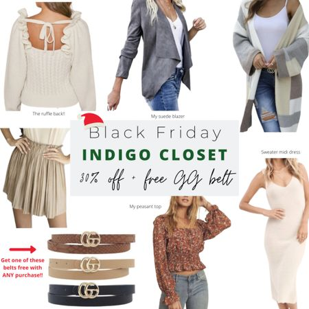 Remember to shop small too! This online boutique is giving away a free GG belt with any purchase for Black Friday! http://liketk.it/32guG #liketkit @liketoknow.it #LTKgiftspo