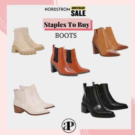 Nordstrom Anniversary Sale - Wardrobe Staples You Should be Buying - Ankle Boots #liketoknowit  #LTKunder100 #LTKsalealert