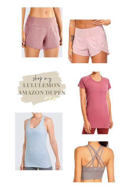 shop amazon's LuluLemon dupes! #lululemon #dupes   #LTKunder50 #LTKsalealert #LTKfit